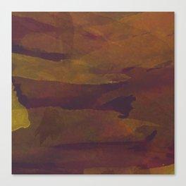 Watercolor Bark Canvas Print