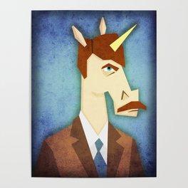 Movember Unicorn Poster