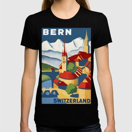 Vintage Bern Switzerland Travel T-shirt