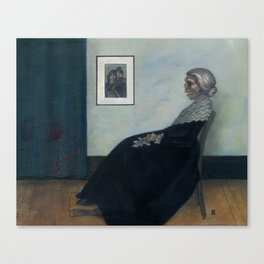 Norman's Mother Canvas Print
