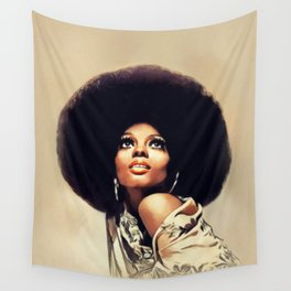 Diana Ross, Music Legend Wall Tapestry
