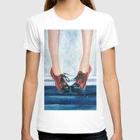 heels T-shirts featuring Heels by MardyArts
