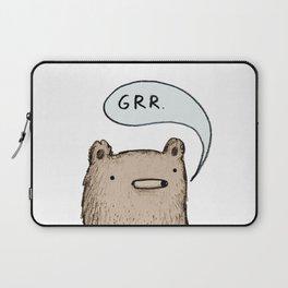 Growling Bear Laptop Sleeve