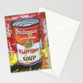 Gluttony Soup Preserves Stationery Cards