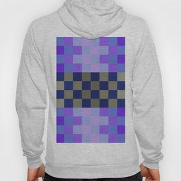 Blue Sky With A Cloud In Pixel Hoody