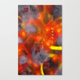 The Disintegration Of Memory Canvas Print
