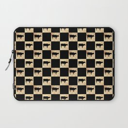 COW CHECK Laptop Sleeve