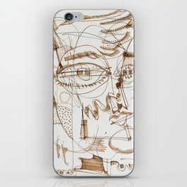 Boy And His Parrot iPhone Skin