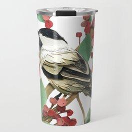 Berry Nice Chickadee Travel Mug