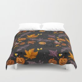 October pattern Duvet Cover