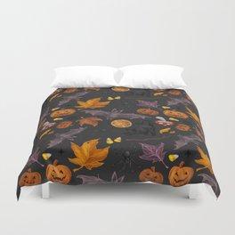 October pattern Duvet Cover