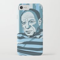 pablo picasso iPhone & iPod Cases featuring Picasso by Alex Bardera