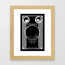 Vintage Box Camera Framed Art Print