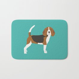 Beagle cute dog gifts pure breed must haves beagles Bath Mat
