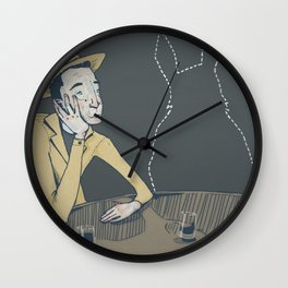 Invisible Friend Wall Clock