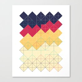 Created with code! - Geometric Art - Digital Download Canvas Print