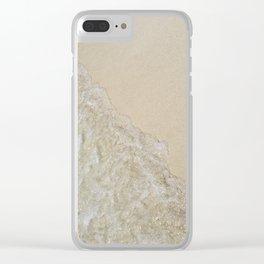 Caribbean Shore Clear iPhone Case
