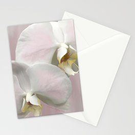 BLUSHING PINK ORCHIDS Stationery Cards