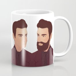 BEARD NO BEARD Coffee Mug
