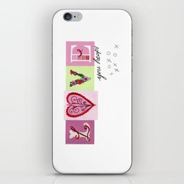 LOVE letters - LOVE you heaps iPhone Skin