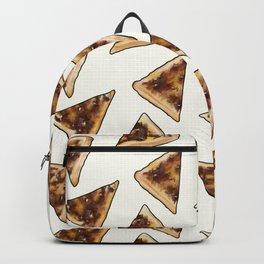 Vegemite on Toast Dreams in white Backpack
