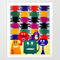 shade of color Art Print