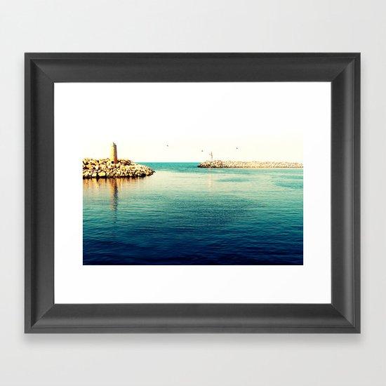 What's left Framed Art Print