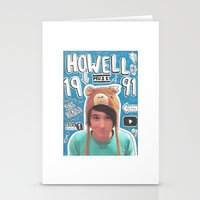 danisnotonfire Stationery Cards featuring danisnotonfire collage by emma