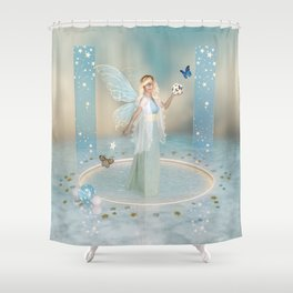Made From Starlight Shower Curtain