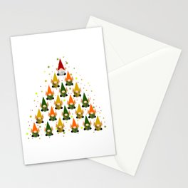Merry Gnoming Christmas Stationery Cards