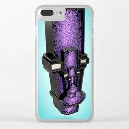 Quadrilmaus Clear iPhone Case