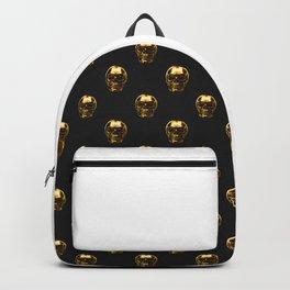 Golden Skull Backpack