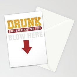 Beer Alcohol Tester Beverage Liquor Mead Gift Drunk Breathalyzer Test Stationery Cards
