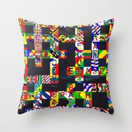 GLOOMY 01 Throw Pillow