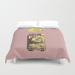 The war is over Duvet Cover