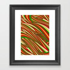 Lov Xmas Framed Art Print