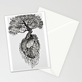 A Word of Hope in a Heart Stationery Cards