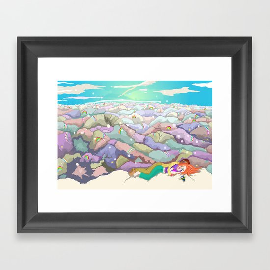 Safe  Framed Art Print