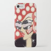 sin city iPhone & iPod Cases featuring Sin City by Artist Fran Doll