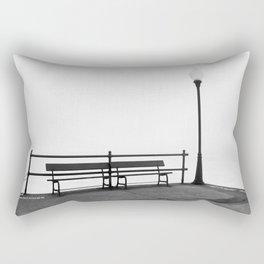 Pier in Early Spring, No. 2 Rectangular Pillow