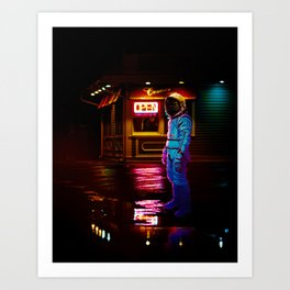 Everyday Is The Same Art Print