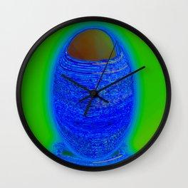 An old floor vase Wall Clock
