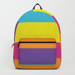 Gender Non-Binary Pride Backpack