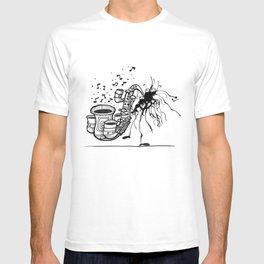Playing Jazz – Inktober 2015 #20 T-shirt