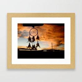 Catching Dreams Framed Art Print