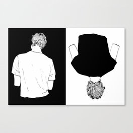 Isak & Even | Two Pieces Canvas Print