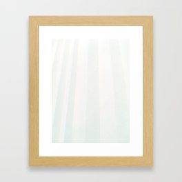 Column of Breath, Column of Air Framed Art Print