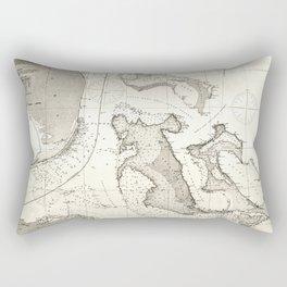 United States - Atlantic coast - 1863 Rectangular Pillow