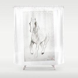 Horse (Notebook) Shower Curtain
