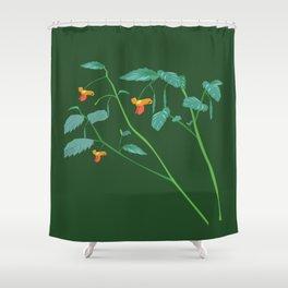 Jewel weed - illustration Shower Curtain